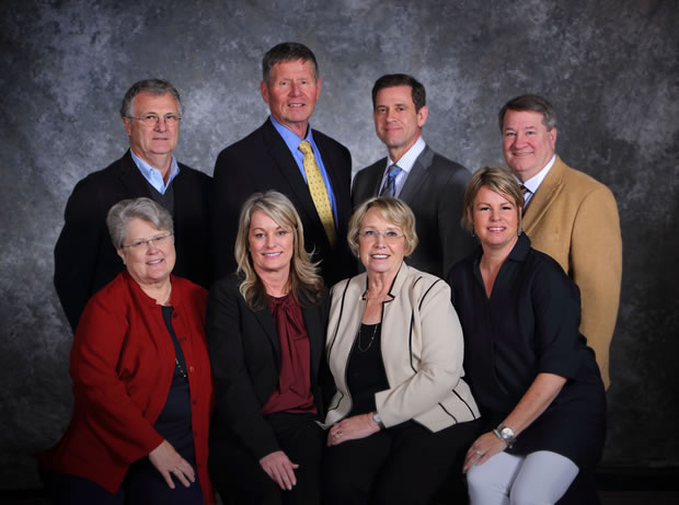 Portrait of the current State Board of Education.