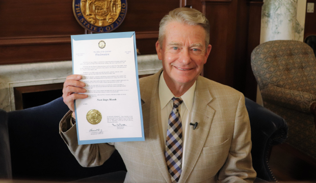 Governor little holds up next steps month proclamation