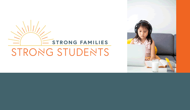 Strong Families Strong Students logo