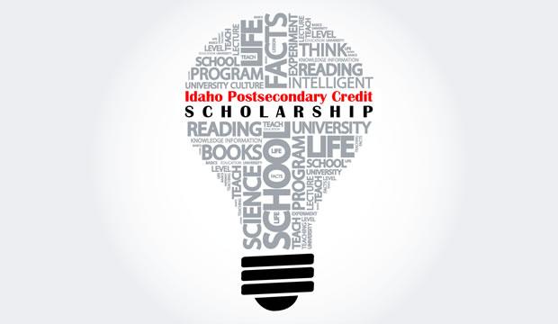 Idaho Postsecondary Credit Scholarship Logo